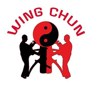 Wing chun kung fu by DeLaFont