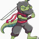 Ninja Dinosaur by rkhy