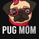 Pug Mom by rkhy