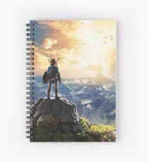 Cuaderno de espiral Leyenda de Zelda ¡Aliento de lo salvaje!
