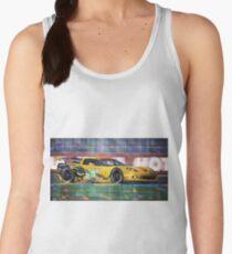 Chevrolet Corvette C6R GTE Pro Le Mans 24 2012 Women's Tank Top
