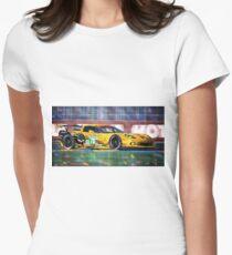Chevrolet Corvette C6R GTE Pro Le Mans 24 2012 Women's Fitted T-Shirt