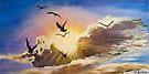 Erupting Sky - skyscapes by Elisabeth Dubois