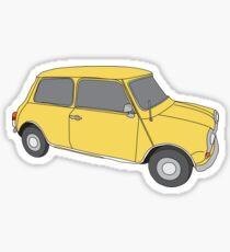 Yellow Mini - 1978 Sticker
