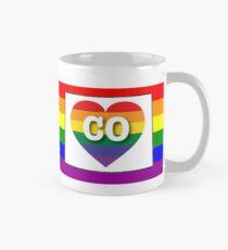 Colorado Gay Pride Shirt - Colorado  LGBT Rainbow Flag Shirt - Colorado Gay Pride Mug