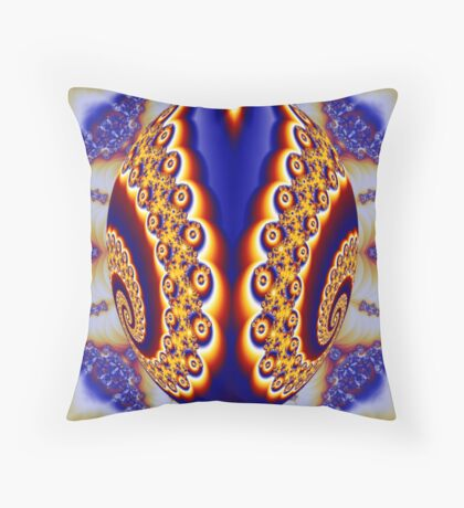 Faberge Egg Throw Pillow