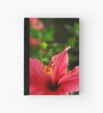 Red Hibiscus Hardcover Journal