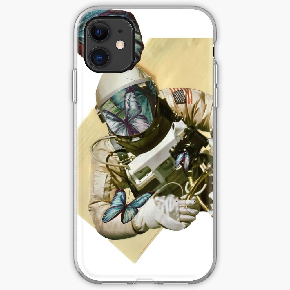 Schmetterlinge im Weltall iPhone-Hülle & Cover