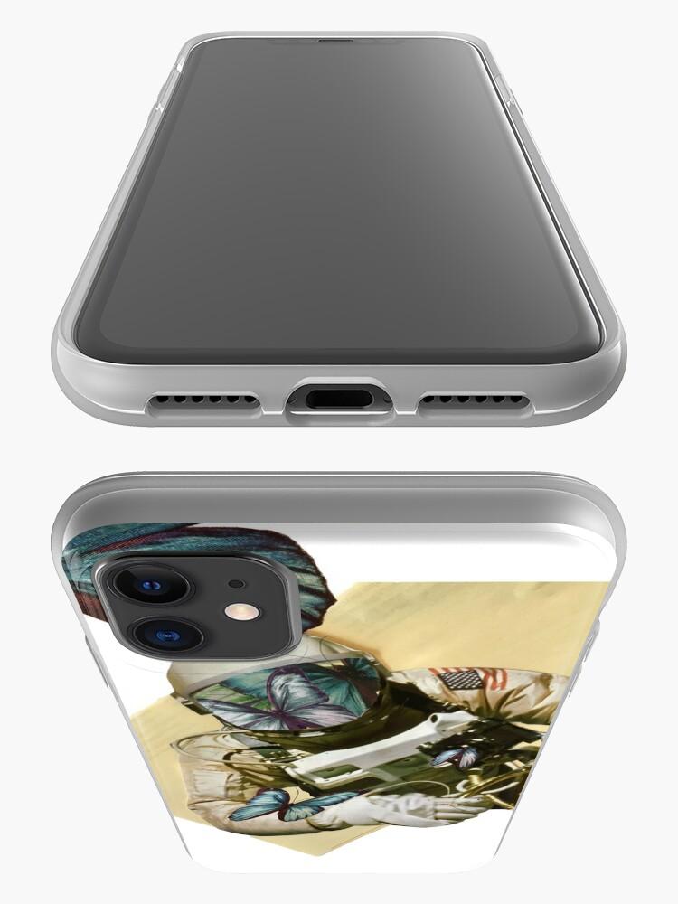 Alternative Ansicht von Schmetterlinge im Weltall iPhone-Hülle & Cover