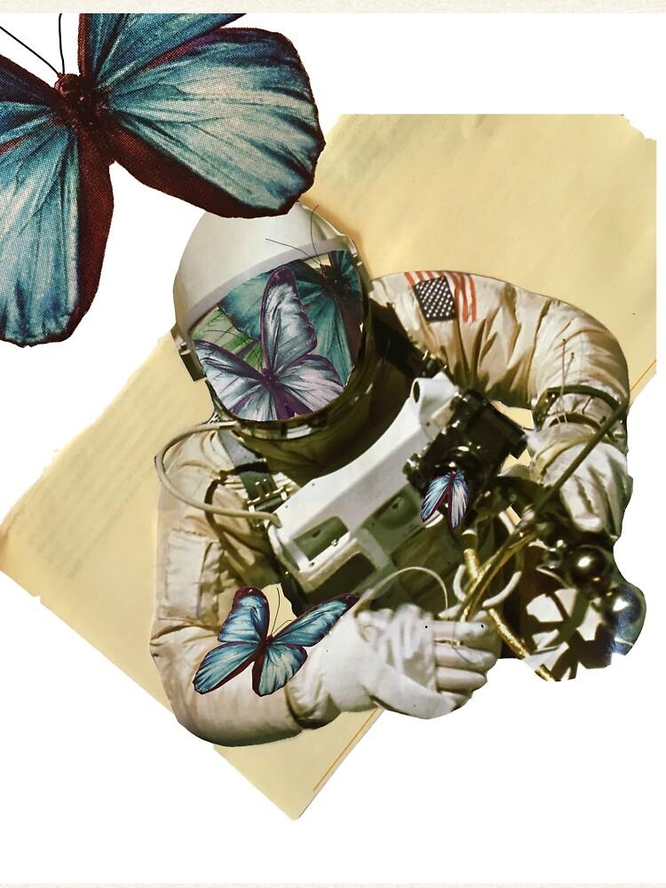 Schmetterlinge im Weltall von hammahglamma