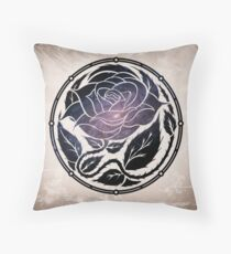 The Rose Medallion Throw Pillow