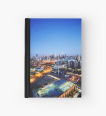 Melbourne Night Scape Hardcover Journal