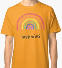 LGBTQA+  PRIDE [Love Wins] Classic T-Shirt
