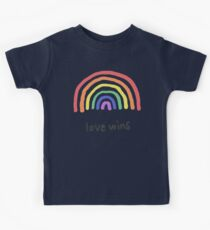 LGBTQA+  PRIDE [Love Wins] Kids Clothes