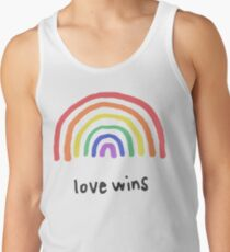 LGBTQA+  PRIDE [Love Wins] Tank Top