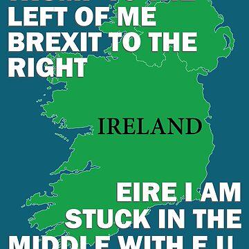 Funny Ireland Eire Joke Trump Brexit E.U. European Union by bev100