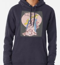 Cherry Blossom Moon Pullover Hoodie