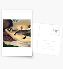Olympia zensiert Postkarten