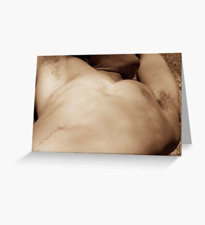 torso 050307 Greeting Card