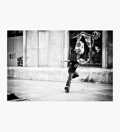 Dancing on wheels 1 Photographic Print
