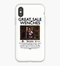 Buxom Wench Yuriana (Große Brüste Rothaariges Mädchen) iPhone-Hülle & Cover