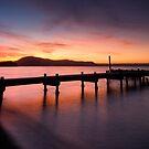Lake Rotorua Sunset by Michael Treloar