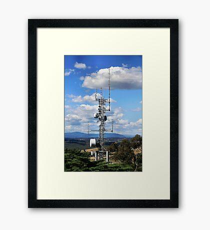 Communication Framed Print