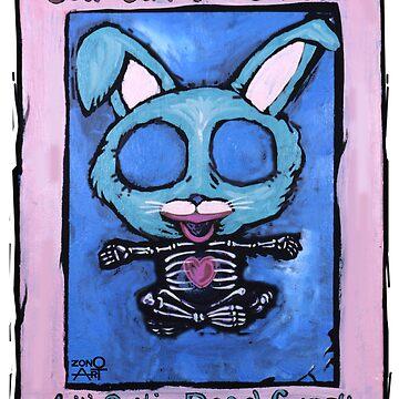 Goth Bunny Wuvs You by ZonoArt