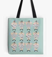 4 Swimming Snorklers  Tote Bag