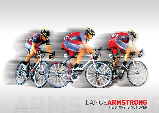Lance Armstrong 2010 by Eamon Fitzpatrick