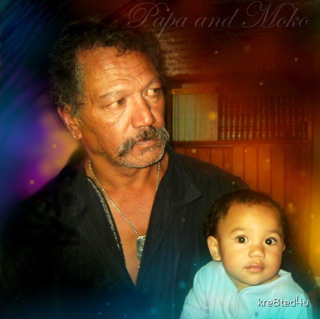 My dad and son by Rangi Matthews