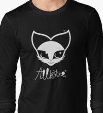 ALLKATZE * Space Cat - Weltraum-Katze - Chat d'Espace Langarmshirt