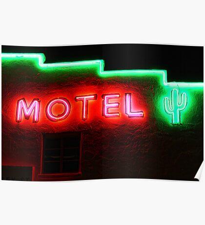 Neon Motel Poster