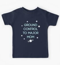 Bodenkontrolle - Bowie Kinder T-Shirt
