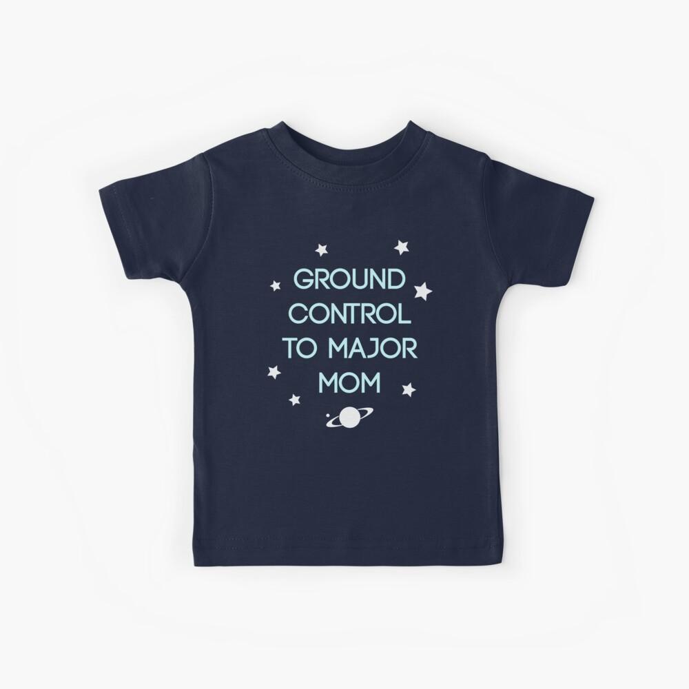 Control de tierra - Bowie Camiseta para niños