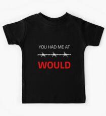 Du hattest mich um süß und lustig, du hattest mich bei Geschenkidee Kinder T-Shirt