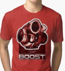 Mighty Car Mods - Turbo Shirt Tri-blend T-Shirt