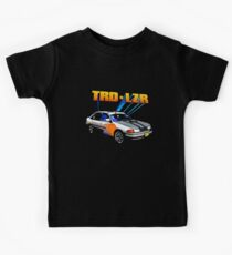 TRD Laser - 80's Style Bright Colour Kids Tee