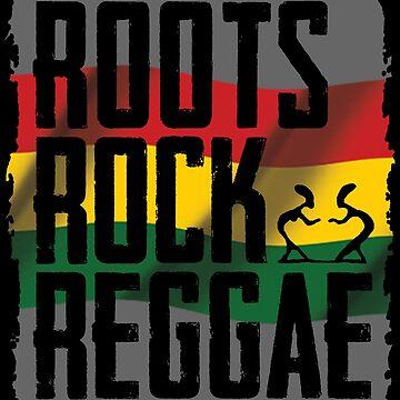 Roots Rock Reggae von Periartwork