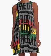 678946b0 Roots Rock Reggae A-Line Dress