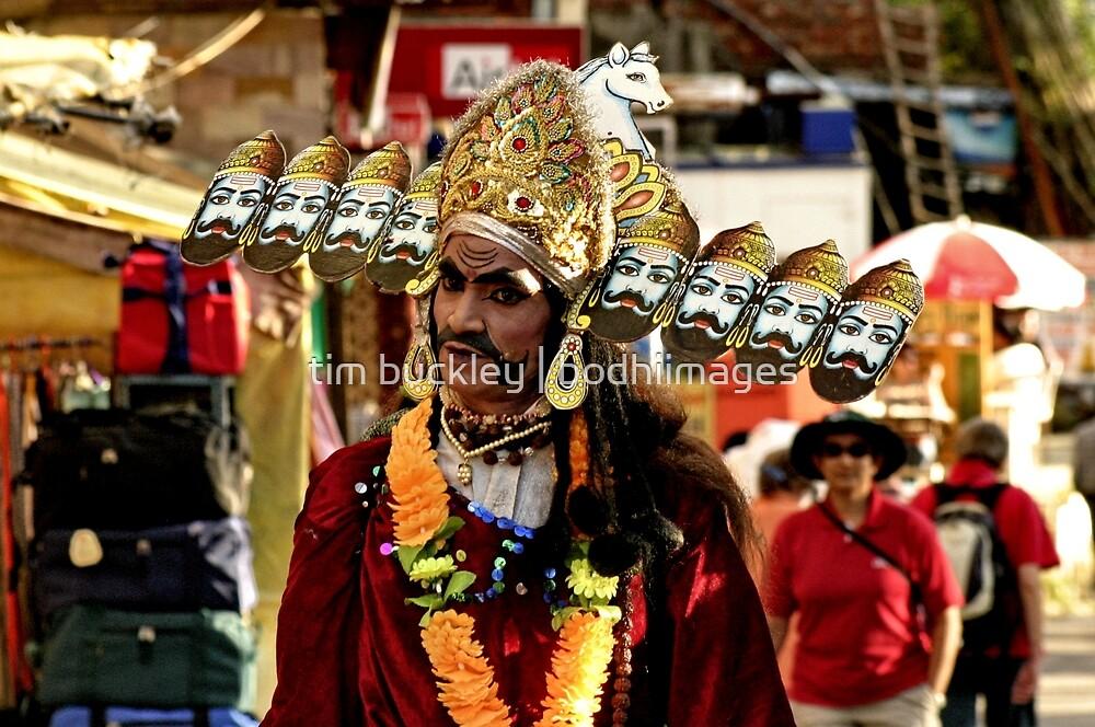 Hindu Devotee by tim buckley | bodhiimages
