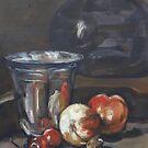 Immer noch in Öl nach Paul Chardin von Christel  Roelandt