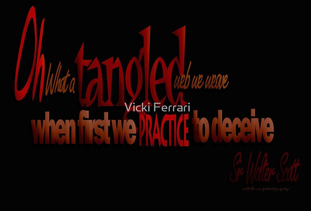 Tangled Webs © 04 by Vicki Ferrari
