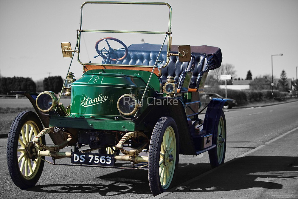 Stanley Steamer 1911 by Ray Clarke