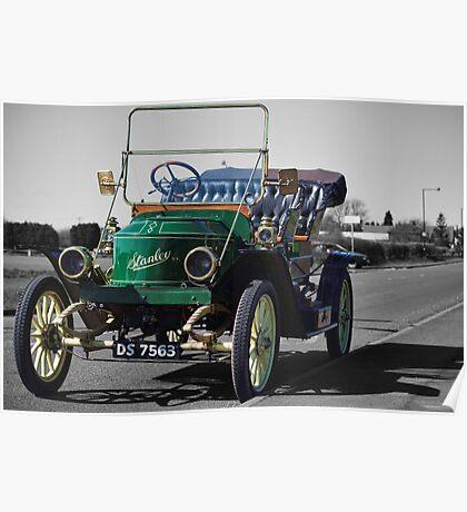 Stanley Steamer 1911 Poster