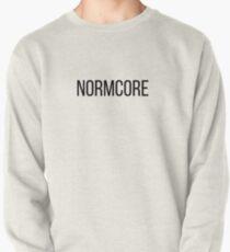 NORMCORE white HARDCORE NORMAL Sweatshirt