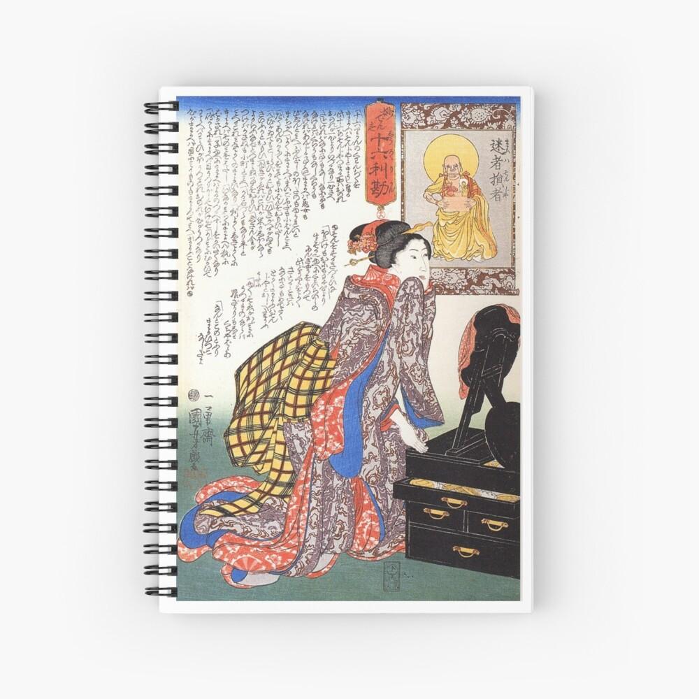 Secrets of beauty Spiral Notebook