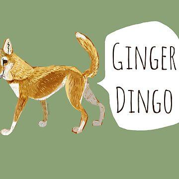 Pattern Ginger dingo de belettelepink