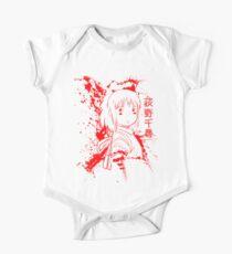 Spirited Ink Scroll Chihiro Short Sleeve Baby One-Piece