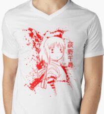 Spirited Ink Scroll Chihiro Men's V-Neck T-Shirt